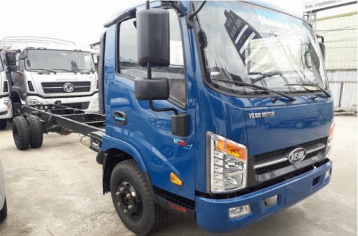 Xe tải Veam VT340s thùng dài 6m1 tải trọng 3,5 tấn 1