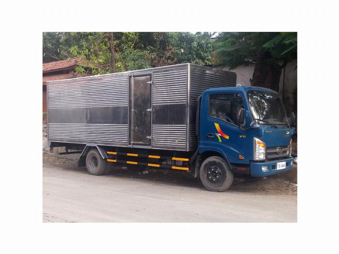 Xe tải Veam VT340s thùng dài 6m1 tải trọng 3,5 tấn 4