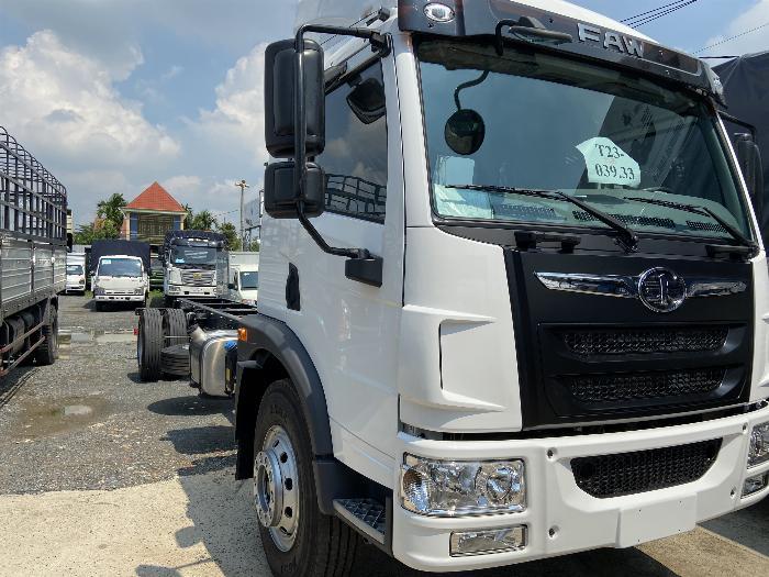 Xe tải faw 9 tấn thùng dài - thùng 7m5 chở bao bì, mút xốp   Hỗ trợ trả góp