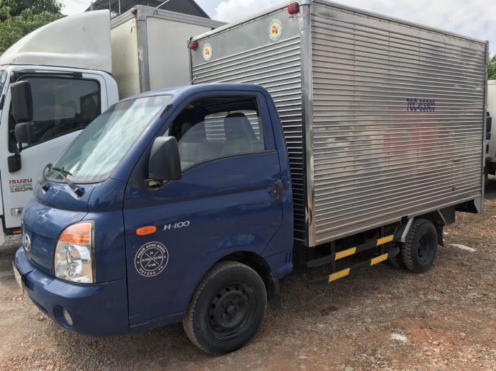cần bán xe tải h100 nhập khẩu thùng kín đời 2011 giá thanh lý tphcm 7