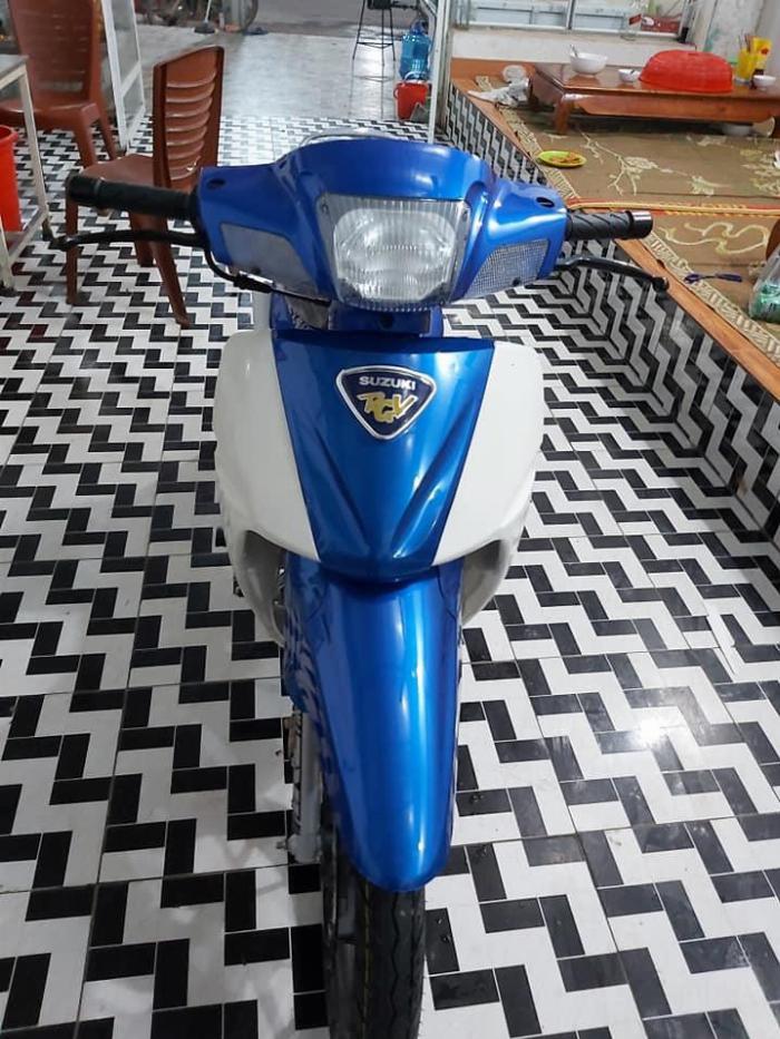 Bán xe Suzuki/sport Xipo 120 màu xanh. Xe mới đẹp 5
