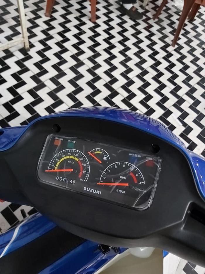 Bán xe Suzuki/sport Xipo 120 màu xanh. Xe mới đẹp 4