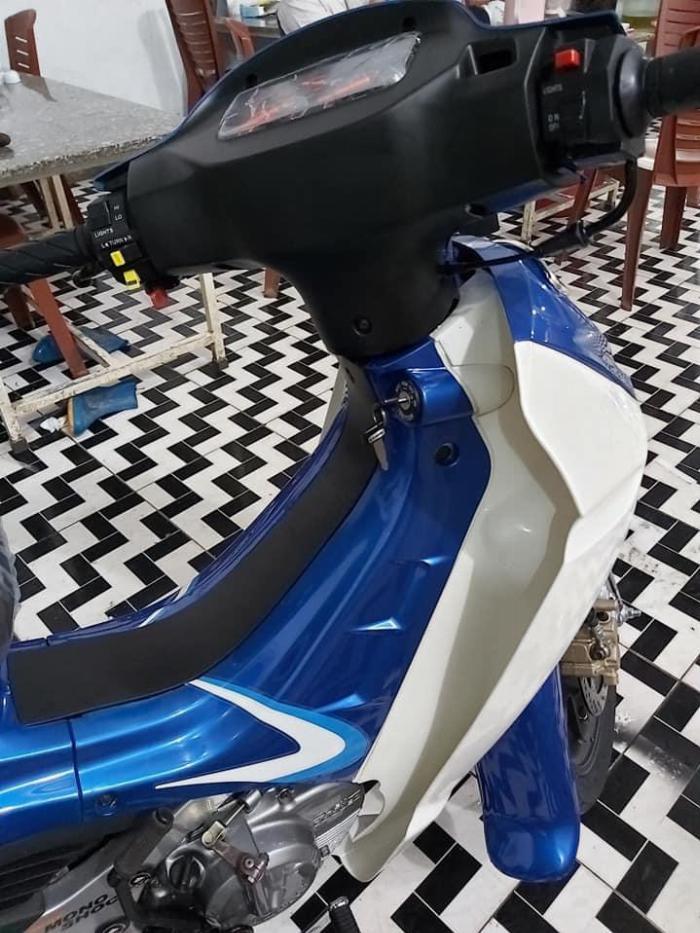 Bán xe Suzuki/sport Xipo 120 màu xanh. Xe mới đẹp 2