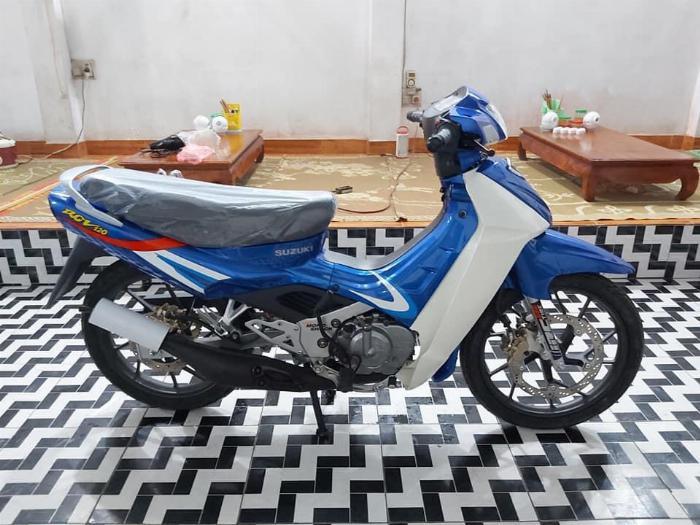 Bán xe Suzuki/sport Xipo 120 màu xanh. Xe mới đẹp 3