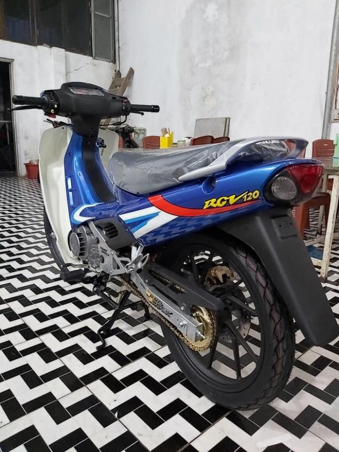 Bán xe Suzuki/sport Xipo 120 màu xanh. Xe mới đẹp 7