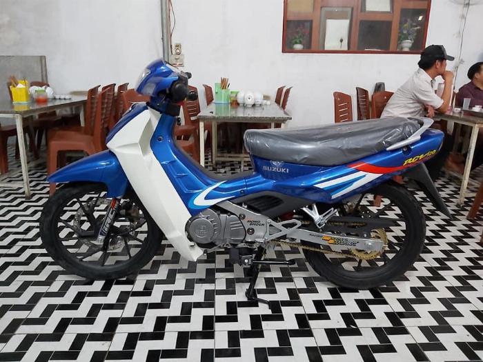 Bán xe Suzuki/sport Xipo 120 màu xanh. Xe mới đẹp 6