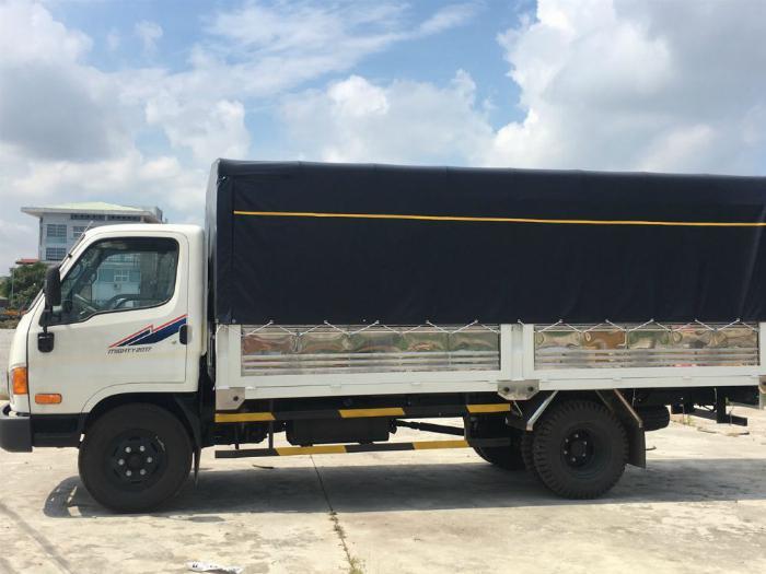 Xe New Mighty 2017, 7 tấn 8, máy Huyndai, thùng dài 5m1 2