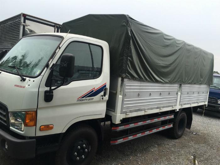 Xe New Mighty 2017, 7 tấn 8, máy Huyndai, thùng dài 5m1 0