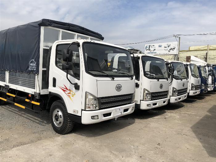 Bán xe tải Faw Yuchai 7 tấn thùng dài 5m1 6