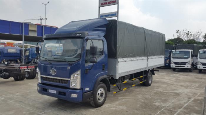 Bán xe tải Faw Yuchai 7 tấn thùng dài 5m1 0