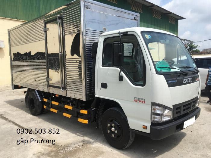 Xe tải ISUZU QKR270 Thùng Kín mới 100% -1,9 tấn, 2,2 tấn, 2,8 tấn