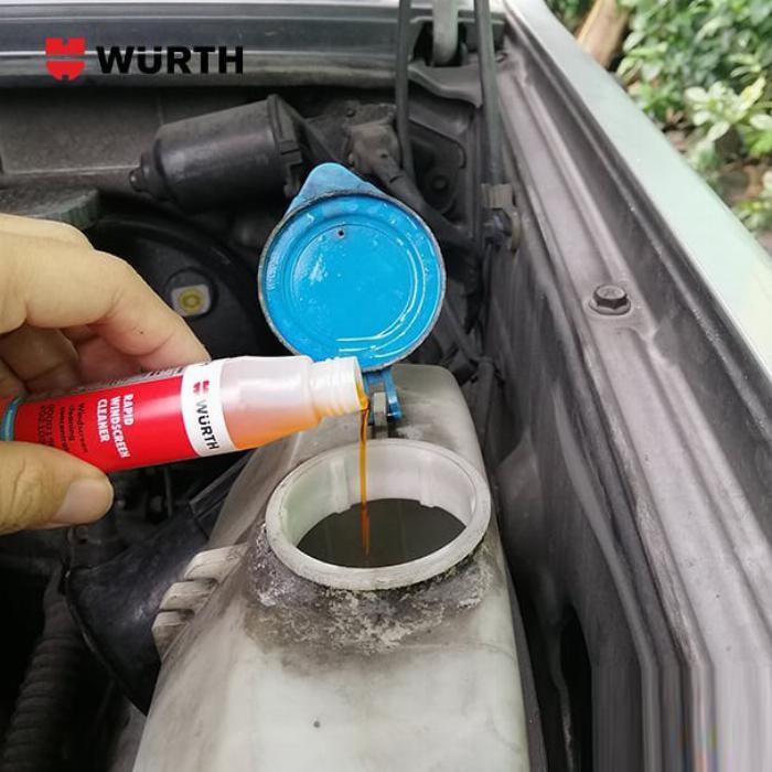 Combo 3 Chai Vệ Sinh Kính Lái Wurth Rapid Windscreen Cleaner 32ML Tặng 3 Khăn 1