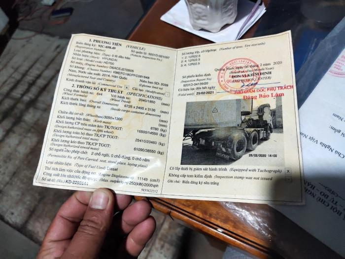 cần bán xe đầu kéo hd700 đời 2014 đăng ký 2015 xe đẹp có trả góp 9