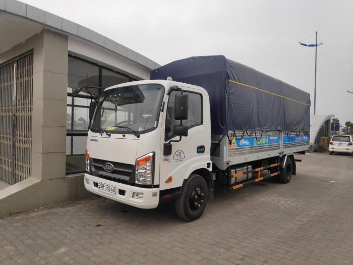 Bán xe Veam VT260-1 máy ISUZU thùng dài 6m1 6