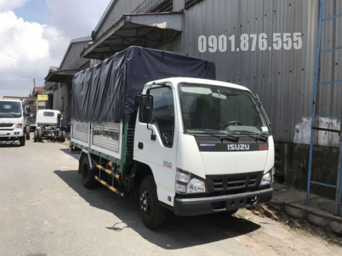 Xe tải Isuzu QKR230 hỗ trợ trả góp giá tốt 120tr nhận xe 1