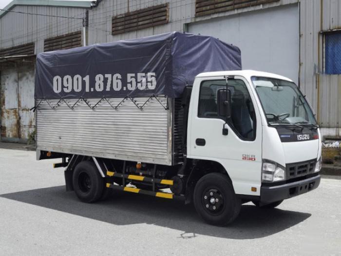 Xe tải Isuzu QKR230 hỗ trợ trả góp giá tốt 120tr nhận xe 3