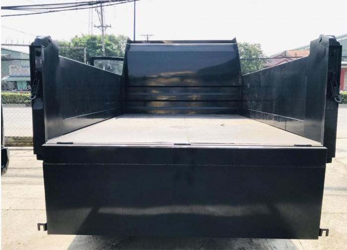 Báo giá xe ben tự đổ 7,75t 2 cầu, Chở hàng 7m³