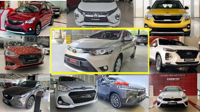 Top 10 xe ô tô bán chạy nhất tháng 11/2020 tại thị trường Việt Nam