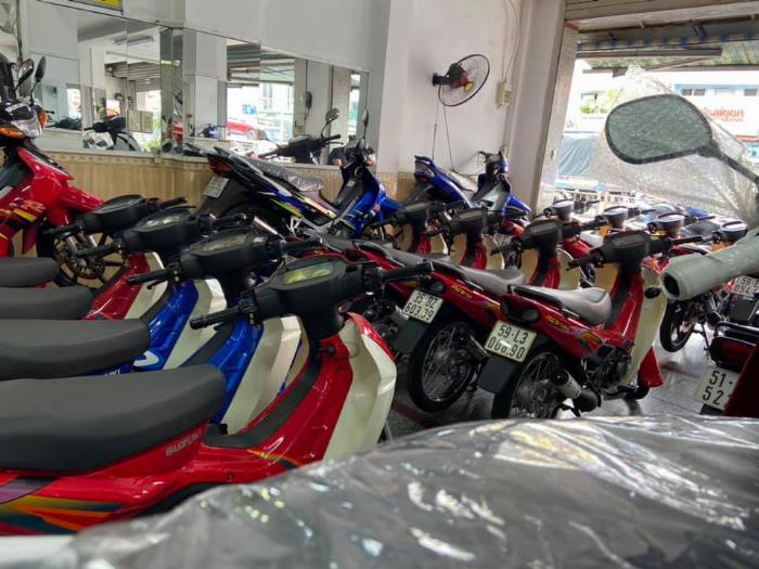Khu chợ xe máy cũ Phú Nhuận