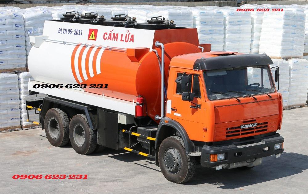 Xe xăng dầu Kamaz 3 giò 18m3 / Bán xe bồn Kamaz 18m3