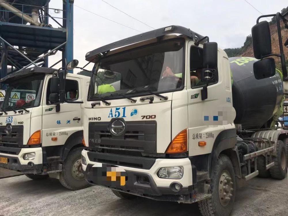 Xe trộn HiNo năm 2018, bồn 12 khối giá tận gốc nhập khẩu chính hãng