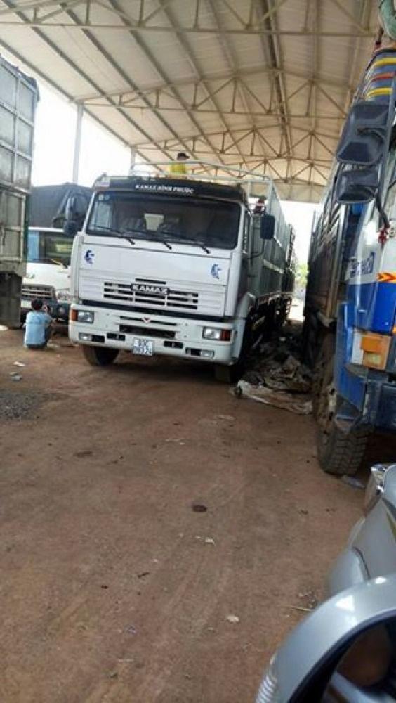 Bán xe tải Kamaz cũ 3 giò / Bán tải thùng Kamaz 2015