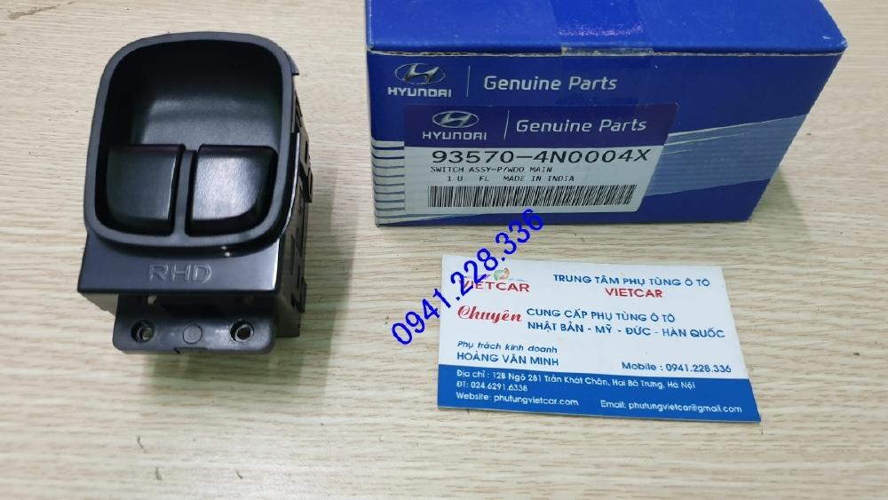 Công tắc lên xuống kính tổng Hyundai Eon 935704N0004X