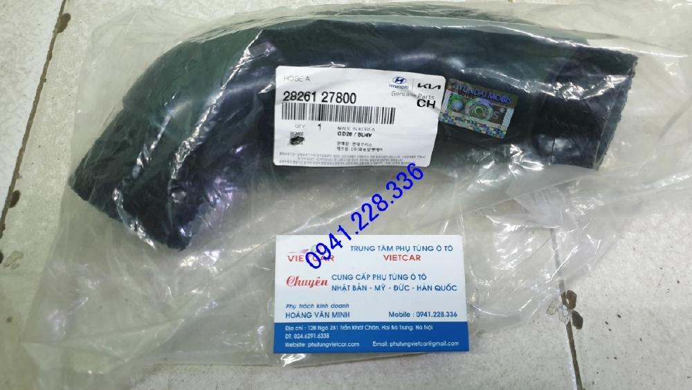 Ống dẫn khí nạp Hyundai Santafe-2826127800