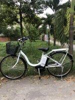 Bán xe đạp điện trợ lực tay ga hàng Nhật bãi cũ giá rẻ Tp HCM – Mã: X24