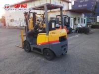 Xe nâng dầu TCM FD15 giá tốt 0903333581