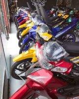 Thanh lý xe máy exciter , ab , hs , yaz , satria , xipo nhập khẩu giá rẻ.