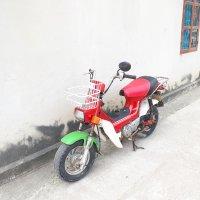 Chaly Honda Cub Nhật nguyên bản biển Hà Nội 29