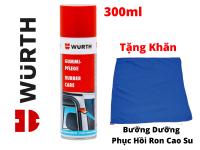 Dung Dịch Bảo Dưỡng Phục Hồi Ron Cao Su Wurth Rubber Care 300ml Tặng Khăn-WRC330