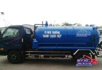 Bán xe hút chất thải 3 khối Hyundai HD72