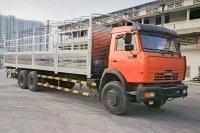 Xe Tải Thùng Kamaz 53229 (6x4) Thùng Đóng Dài