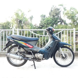 Viva Thái 110 Suzuki xe nguyên bản phanh đĩa biển Hà Nội 29