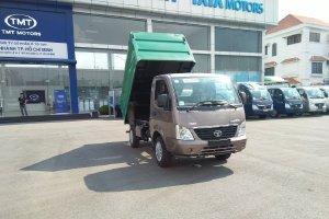 xe tải tata 870kg máy dầu thùng chở rác