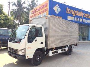 xe tải ISUZU tải 1.9 tấn 2.5 tấn 2.8 tấn thùng kín dài 4.3m - Trả Góp