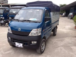 xe tải veamstar 735kg thùng mui bạt, trả trước 40tr nhận xe, lãi suất thấp
