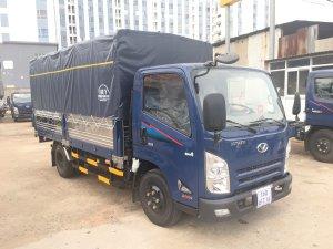 Xe tải thùng mui bạt Động cơ máy ISUZU EURO4 2019 IZ65 tải 2.4 - 3.5 tấn - Trả Góp