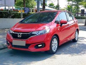 Bán Honda Jazz VX 2019 tự động màu đỏ may mắn rất mới.