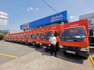 Xe Isuzu Nhật Bản 4,99 tấn, 5.7 tấn đời 2019, hỗ trợ trả góp