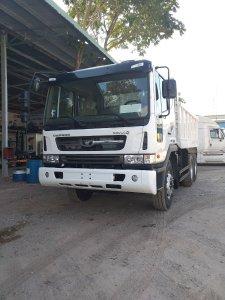 Báo giá xe ben Daewoo 3 chân 15 tấn 10 khối nhập khẩu Hàn Quốc