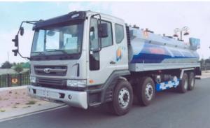 Đại lý xe ben Daewoo 4 chân 19 tấn, 24 tấn tại TPHCM, hỗ trợ trả góp lãi suất thấp