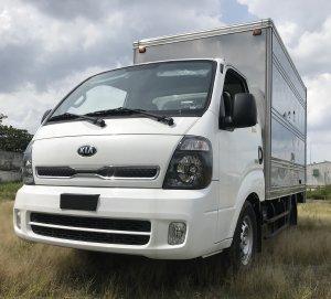 Xe tải Thaco Kia K250 Thùng Kín tải trọng 1.49 và 2.49 tấn. 2019 mới 100%