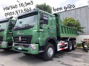 Xe Ben 3 Chân Howo 2019 Model HW340 thùng 10.3m3 tải CPTGGT 12.7 Tấn