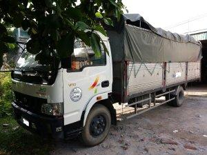 Cần bán xe tải thùng bạt VEAM, 5 tấn, thùng dài 6m, động cơ HUYNDAI