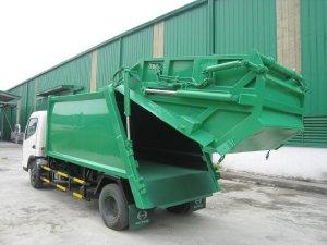 Bán xe ép rác, xe chở rác từ 2 khối đến 20 khối