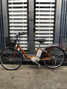 Bán xe đạp điện trợ lực tay ga hàng Nhật bãi cũ giá rẻ Tp HCM – Mã: X8