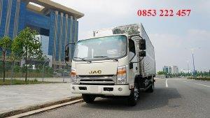 cần bán xe tải jac 6 tấn 5 thùng kín - động cơ cummmins 3.8l - hỗ trợ mua trả góp